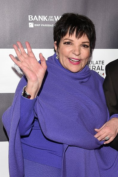 Liza Minnelli at TCL Chinese 6 Theatres on February 20, 2015 in Hollywood, California | Photo: Getty Images