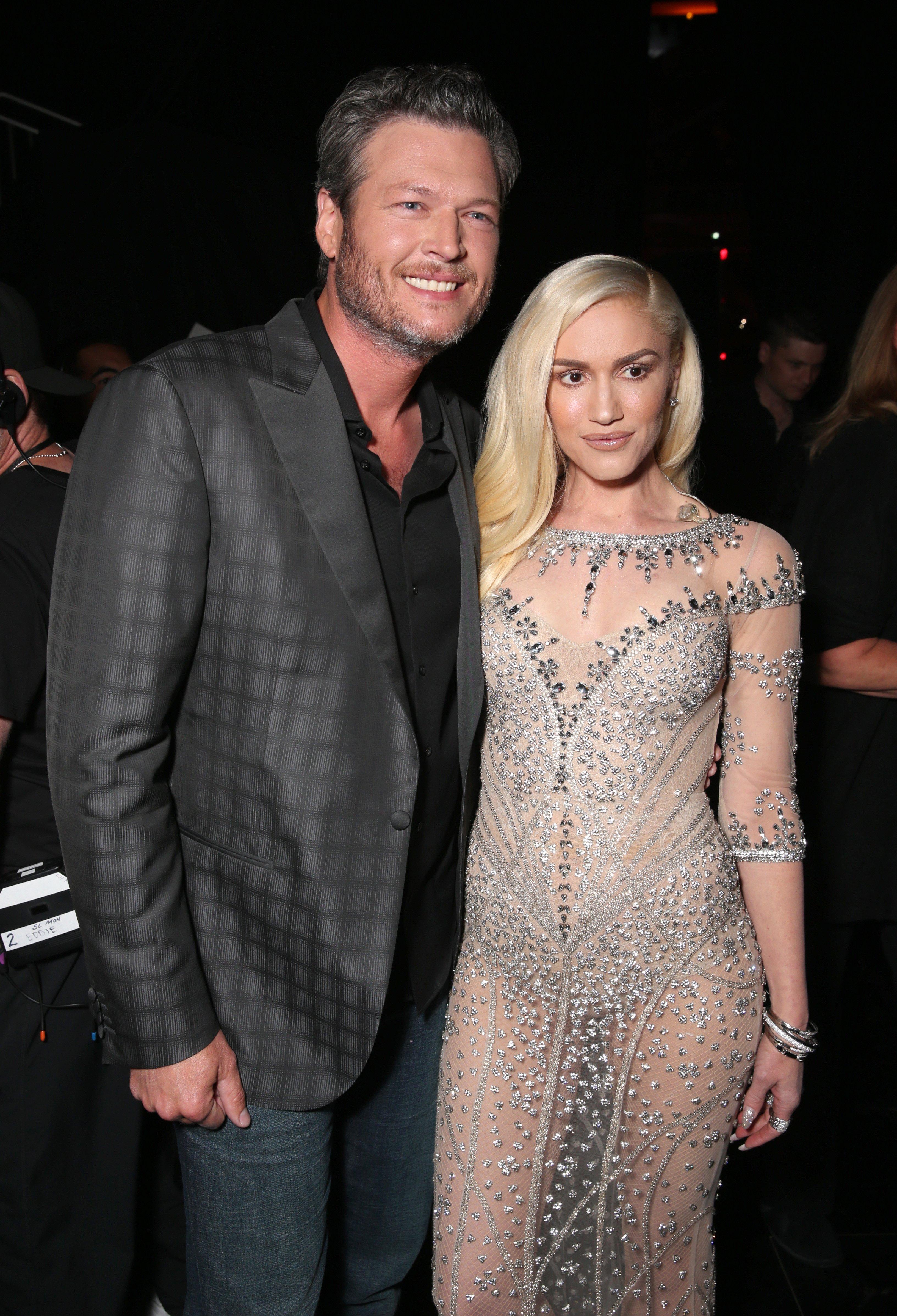 Gwen Stefani and Boyfriend Blake Shelton Step Out in