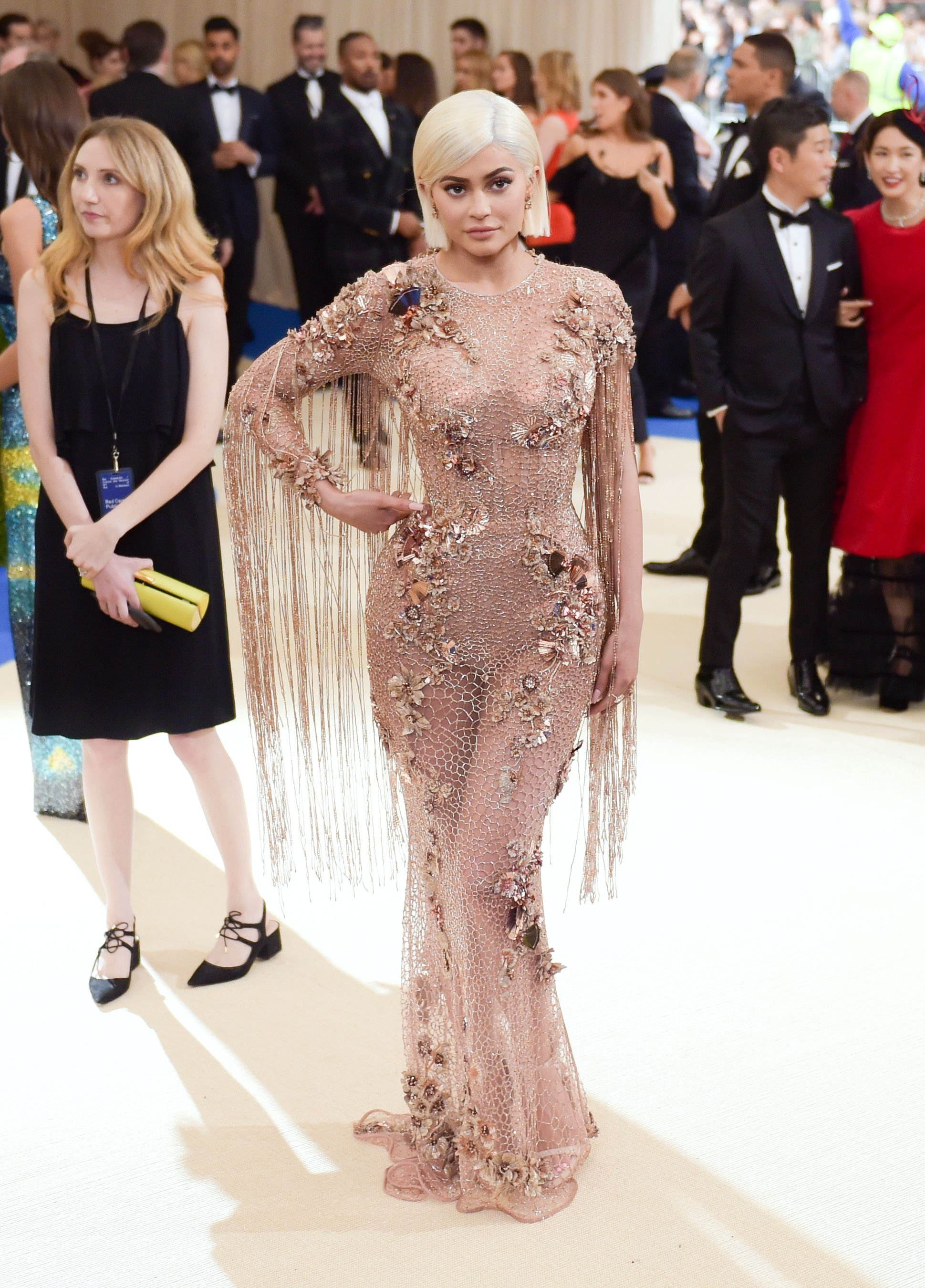 """Kylie Jenner at the """"Rei Kawakubo/Comme des Garcons: Art Of The In-Between"""" Costume Institute Gala - Arrivals at Metropolitan Museum of Art on May 1, 2017 in New York City.   Source: Getty Images"""