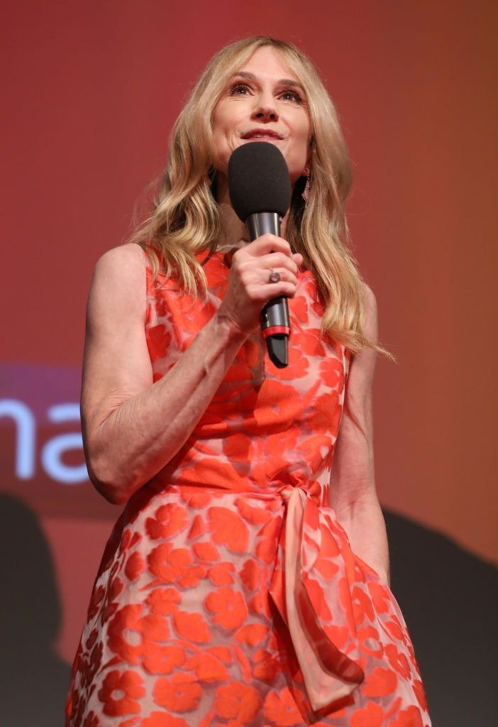"""Holly Hunter attends the """"Incredibles 2"""" UK premiere at BFI Southbank on July 8, 2018 