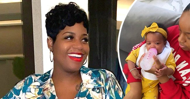 Singer Fantasia Barrino and her two daughters Zion and Keziah | Source: Instagram/ Keziah Taylor | Instagram/Fantasia Taylor