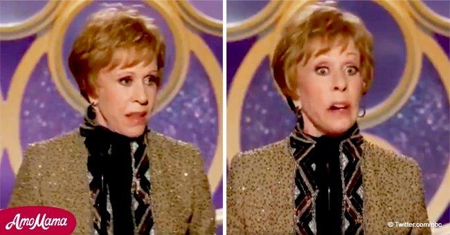 Legendary Carol Burnett gets standing ovation at the Golden Globes before her powerful speech
