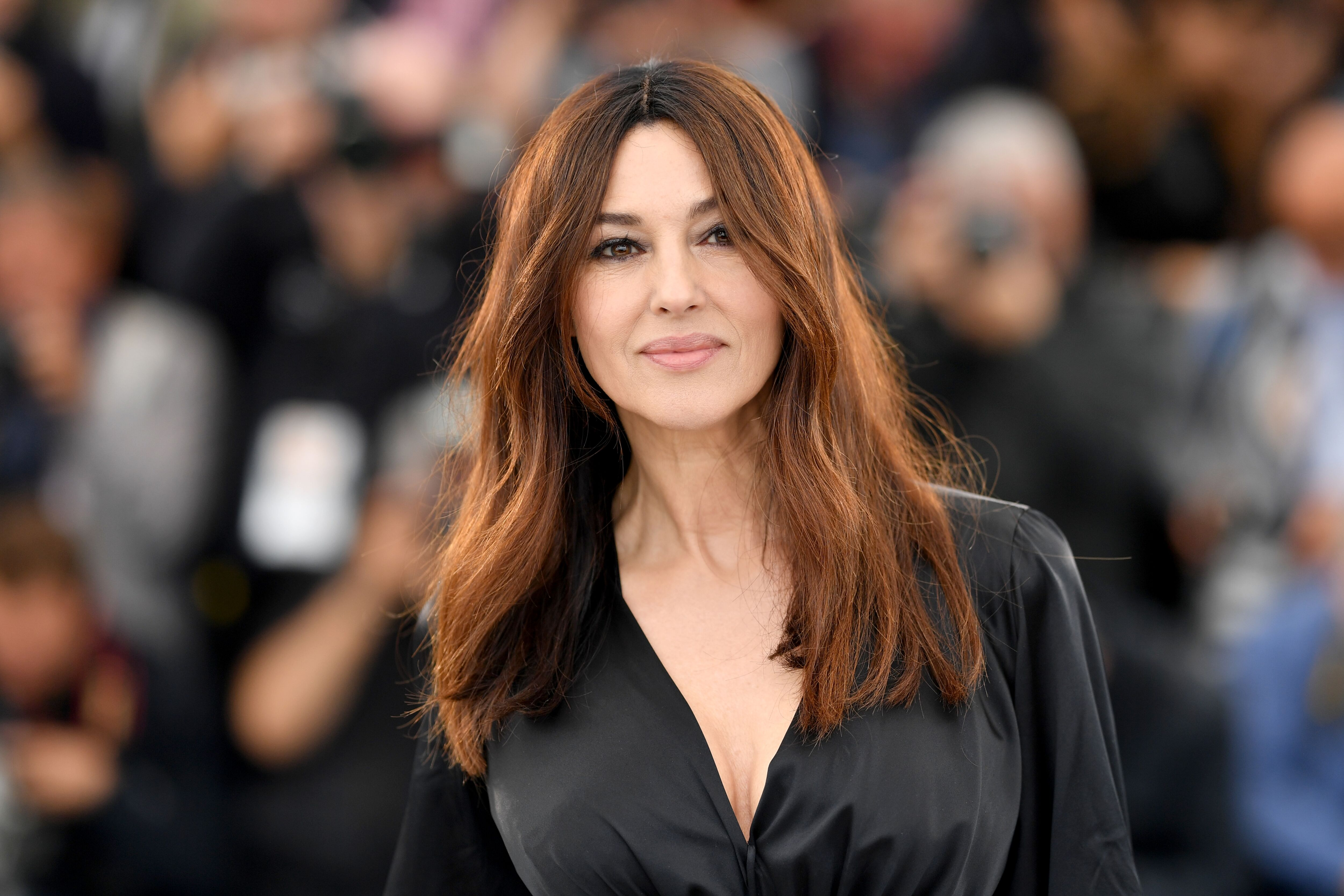 """Monica Bellucci attends the photocall for """"The Best Years of a Life (Les Plus Belles Annees D'Une Vie)"""" during the 72nd annual Cannes Film Festival on May 19, 2019. 