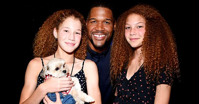 See Michael Strahan's Twin Daughters' Sweet Father's Day Posts