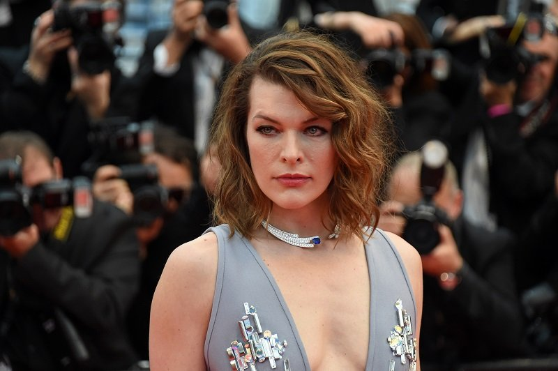 Milla Jovovich on May 16, 2018 in Cannes, France | Photo: Getty Images