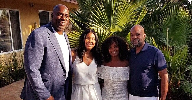 Magic Johnson's Wife Cookie Stuns in a Long White Dress in B-Day Post to Vanessa Bell Calloway