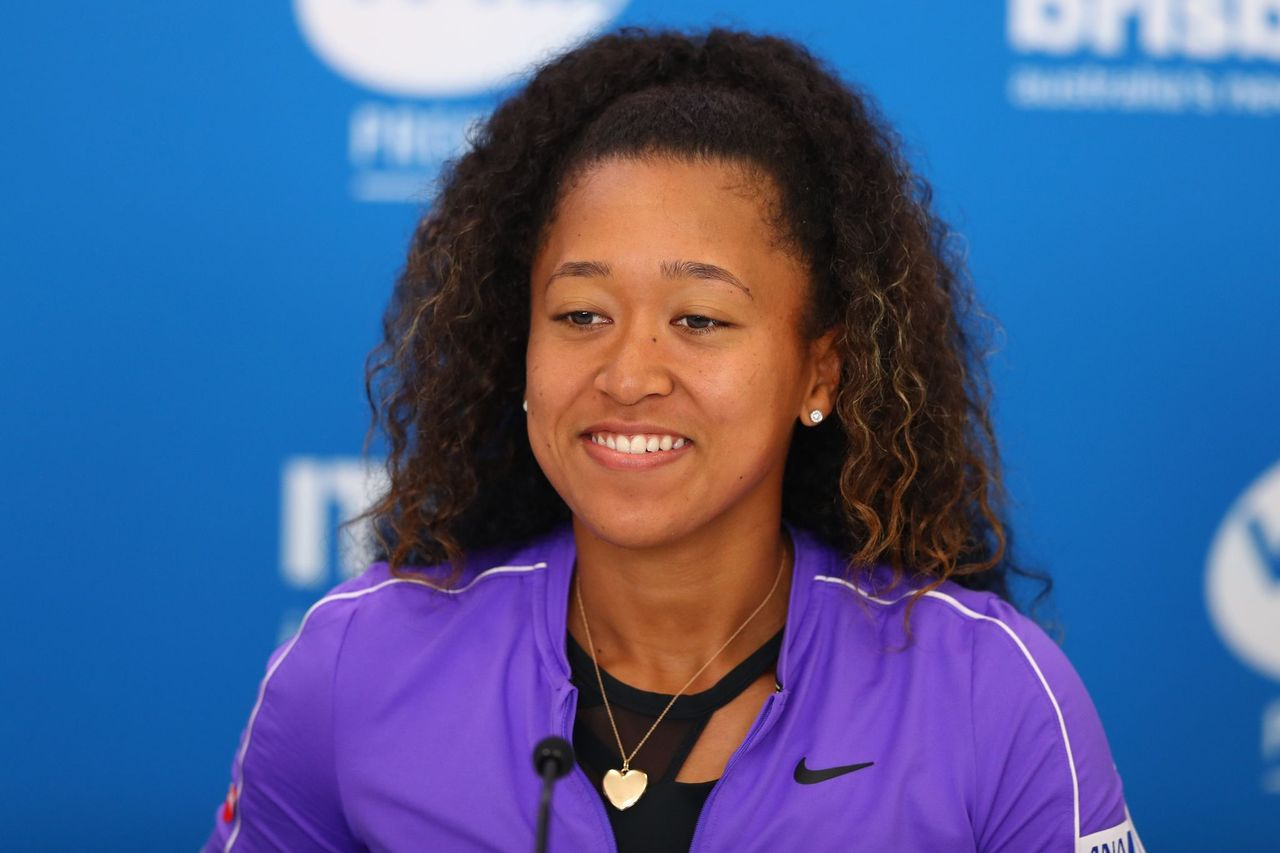 Naomi Osaka of Japan speaks to media ahead of the 2020 Brisbane International at Pat Rafter Arena on January 05, 2020. | Photo: Getty Images