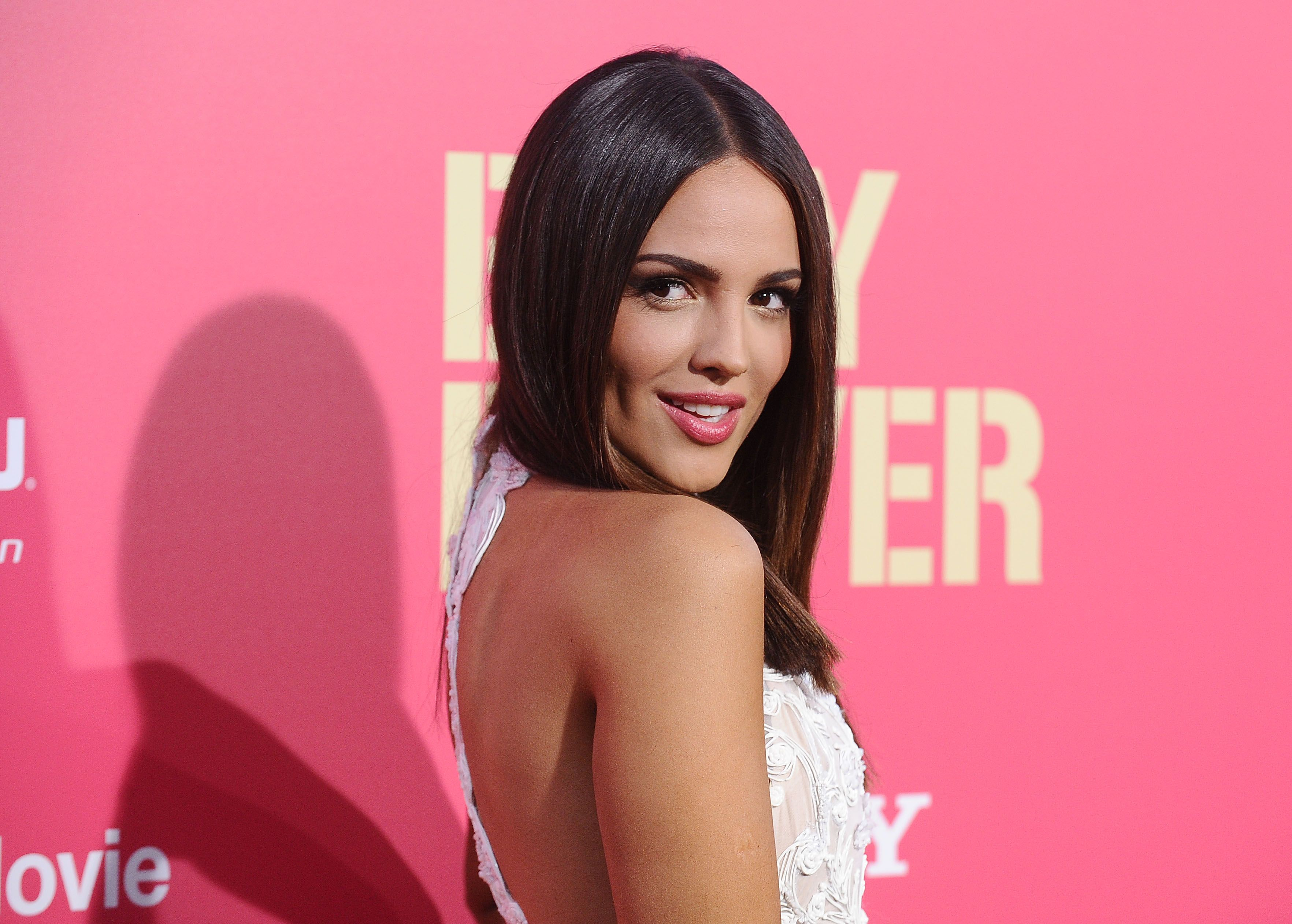 "Eiza Gonzalez at the premiere of ""Baby Driver"" in 2017 in Los Angeles 