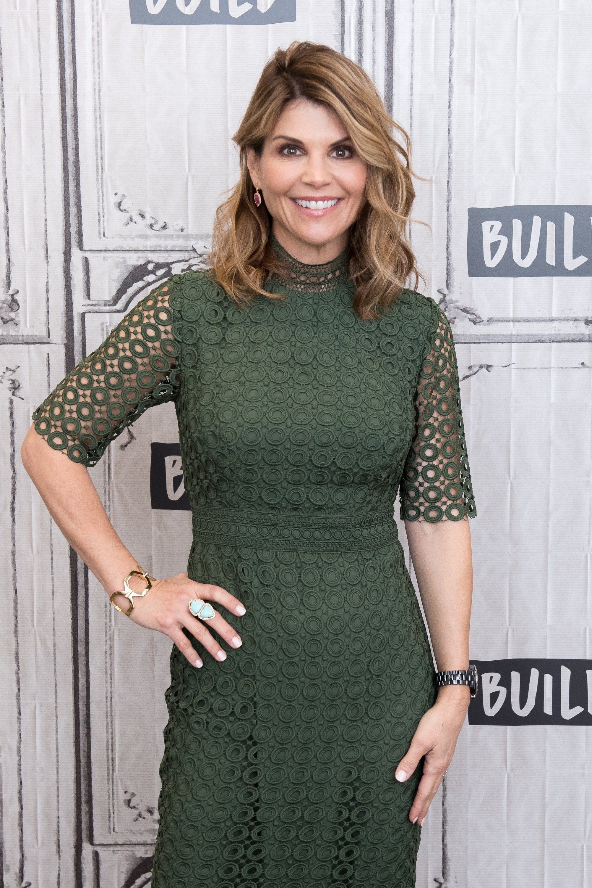 Lori Loughlin visits Build Series at Build Studio on February 15, 2018 in New York City | Photo: Getty Images
