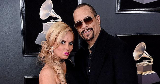 Ice-T Shares Family Photo with Wife, Their Look-Alike Daughter Chanel & 2 Dogs