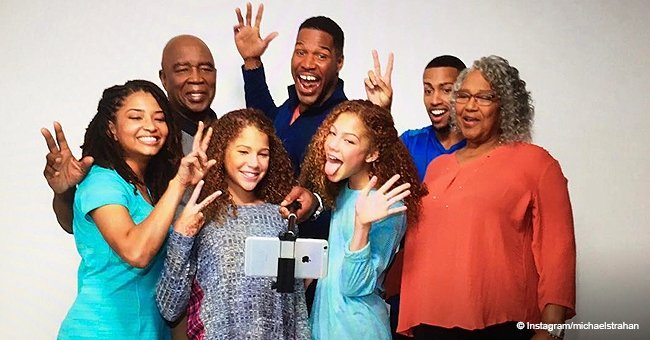 Michael Strahan Shares Heartwarming Pic with His 4 Beautiful Children, Mom and Dad