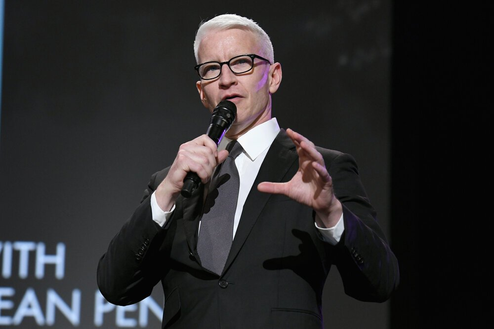 Anderson Cooper attending the Sean Penn CORE Gala benefiting the organization formerly known as J/P HRO at The Wiltern in Los Angeles, California, in January 2019. I Image: Getty Images.
