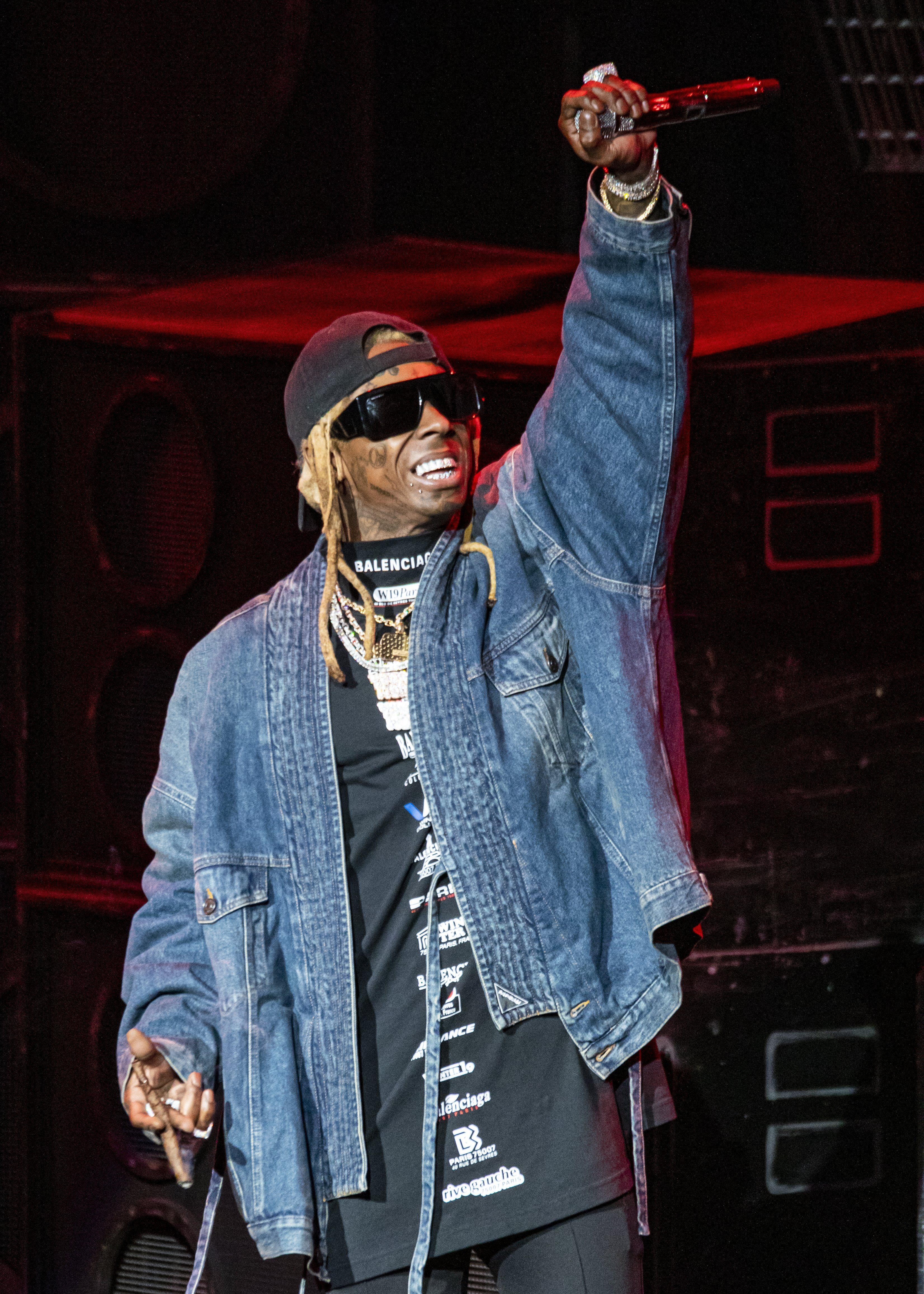 il Wayne performs at DTE Energy Music Theater on September 10, 2019|Photo:Getty Images