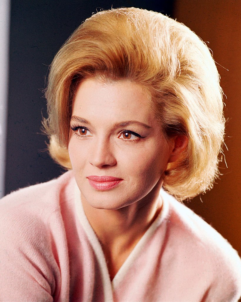 Headshot of Angie Dickinson, US actress, circa 1965.   Source: Getty Images