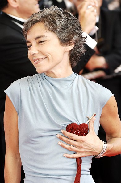 "Elisabeth Quin pendant le Festival de Cannes 2007 - ""Promets-moi cette"" Projection au Palais des Festivalse à Cannes, France. 