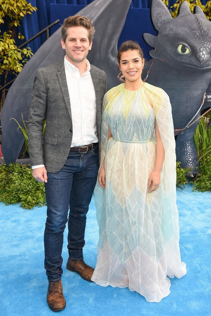"""Ryan Piers Williams and America Ferrera attend Universal Pictures and DreamWorks Animation Premiere of """"How to Train Your Dragon: The Hidden World"""" 