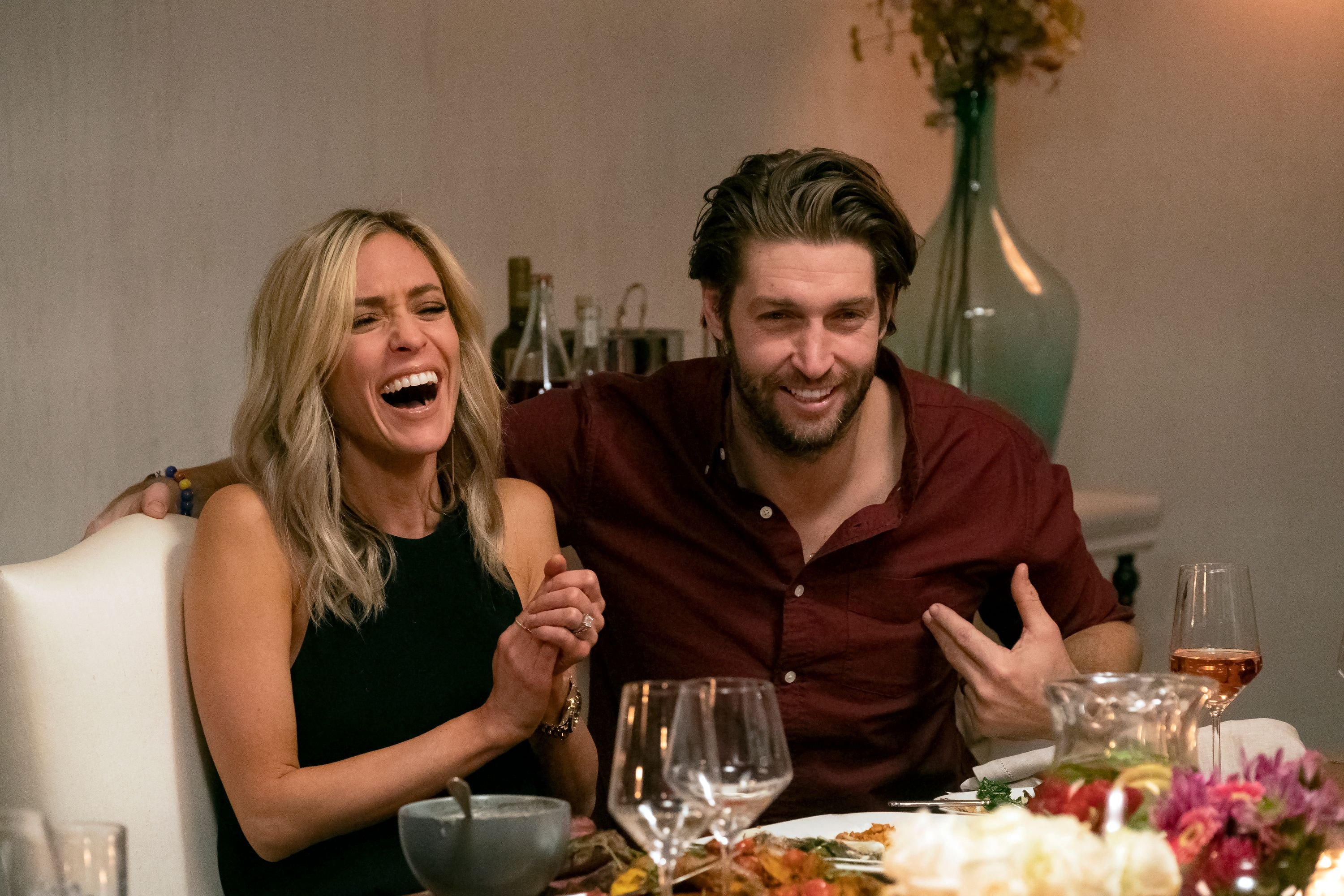 "Kristin Cavallari and Jay Cutler on episode 206 of ""Very Cavallari."" 
