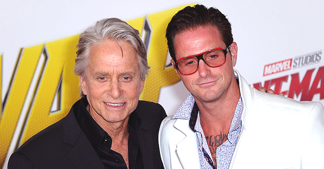 Michael Douglas' Son Cameron Is in Good Spirits as He Holds Daughter Lua in a New Photo