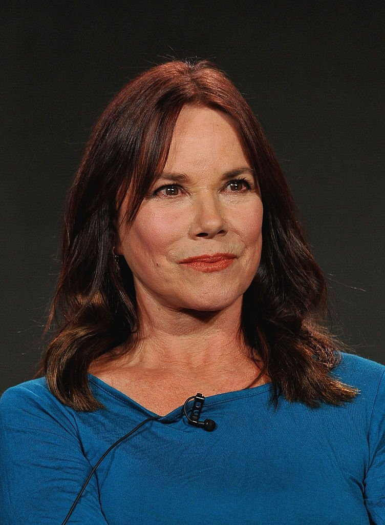 Barbara Hershey attends the panel discussion for Damien during the A+E Networks 2016 Television Critics Association Press Tour | Getty Images