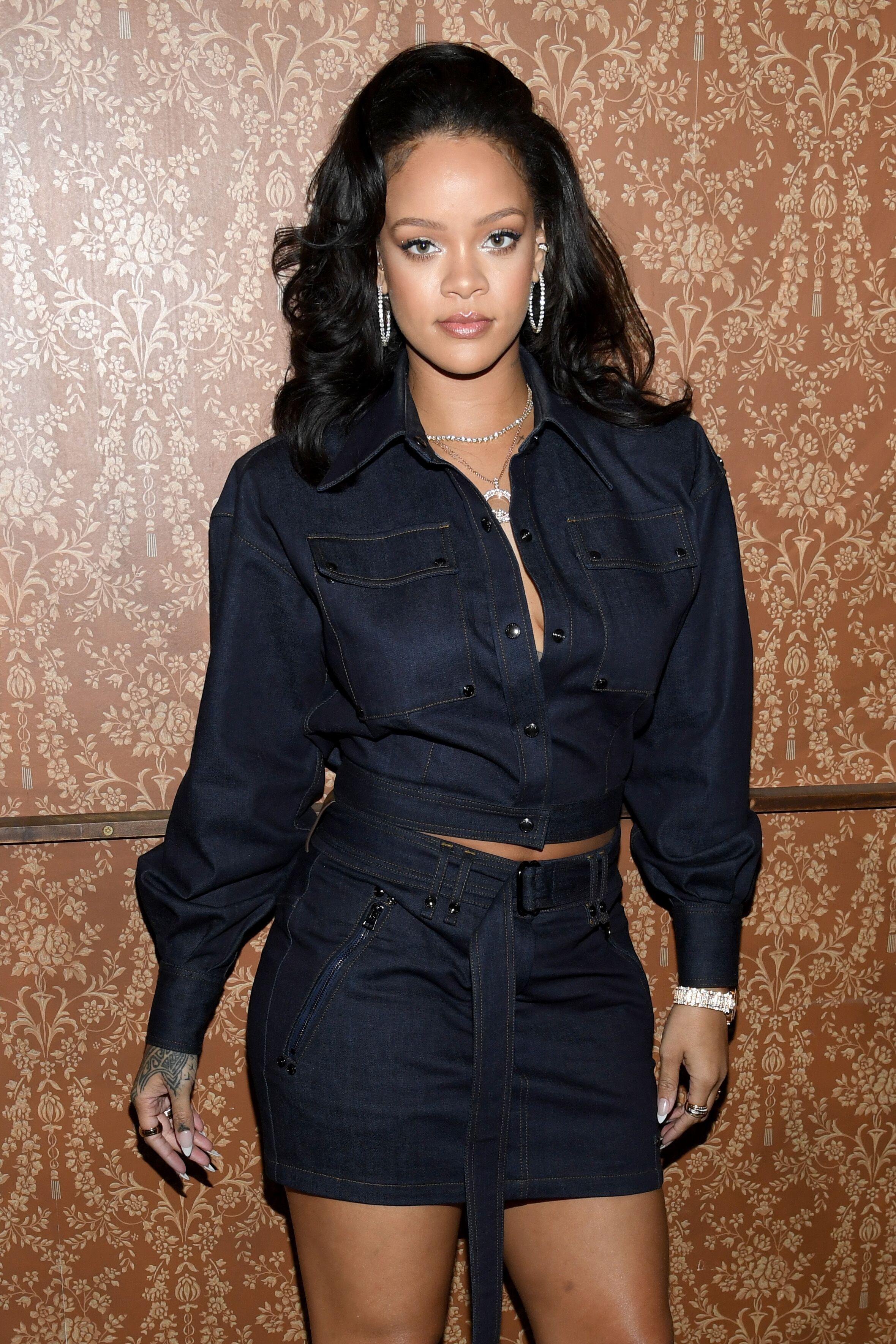 La chanteuse Rihanna. l Source : Getty Images