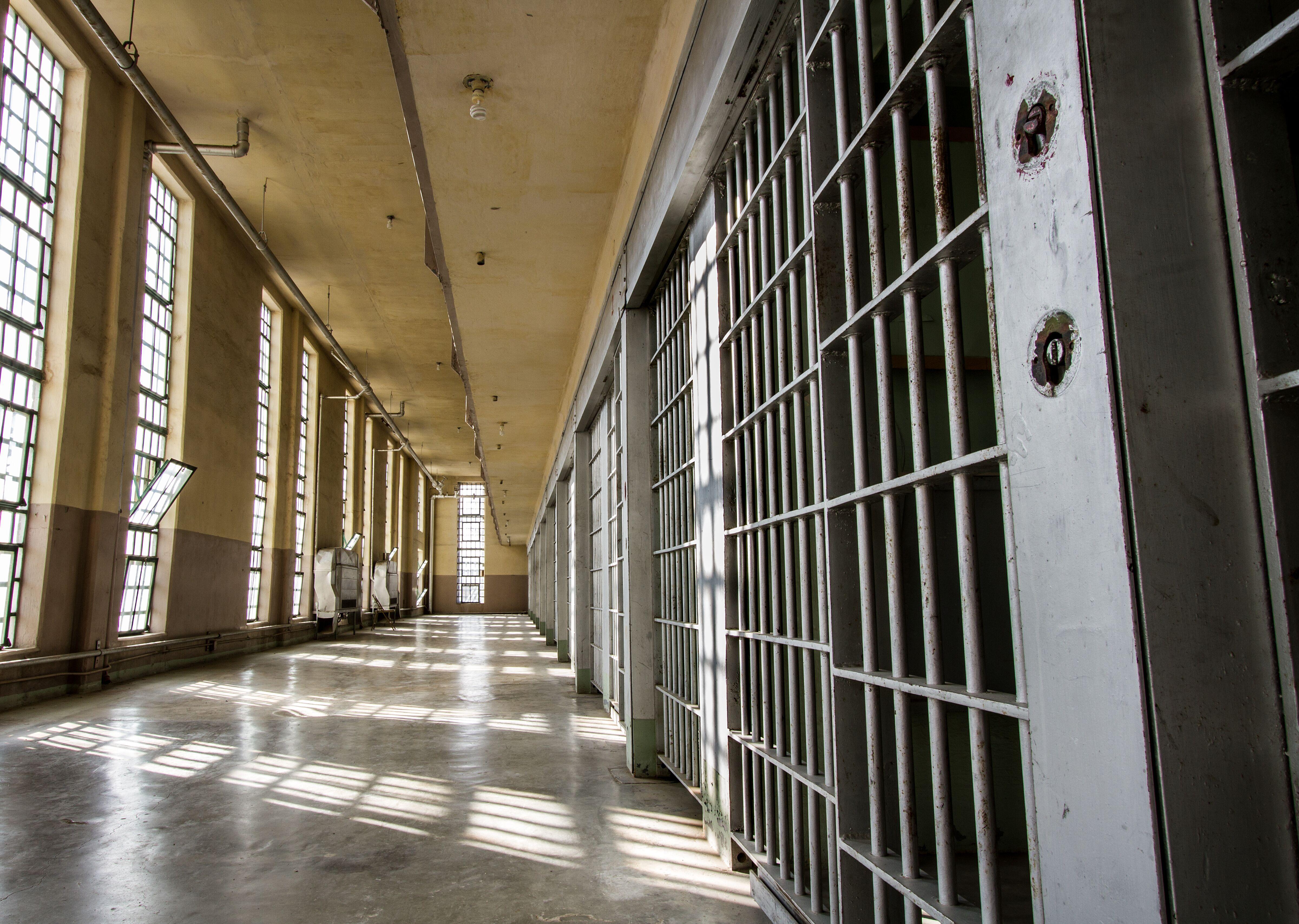 Vue de l'intérieur d'un établissement pénitentiaire   Photo : Getty Images