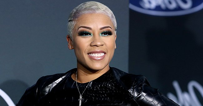 Keyshia Cole's Son Melts Hearts as He Plays with Autumn Leaf in an Adorable Photo