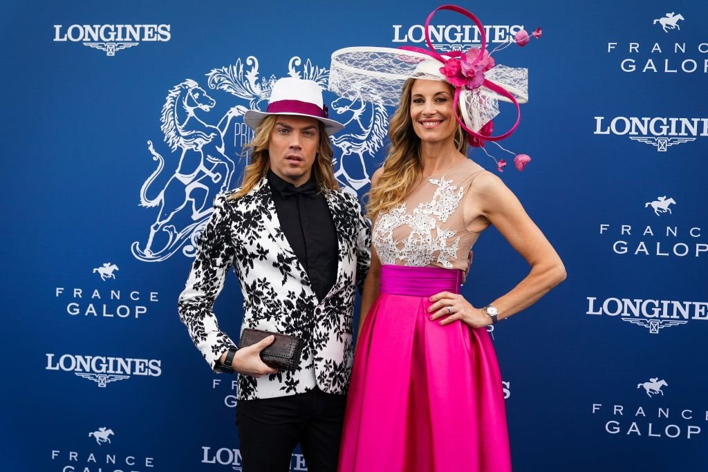 Sophie Thalmann lors du Prix de Diane Longines à l'Hippodrome de Chantilly. | Source : Getty Images