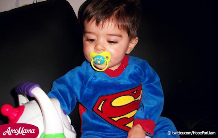 L'histoire de Liam : 2 ans, souffre d'une grave maladie infantile