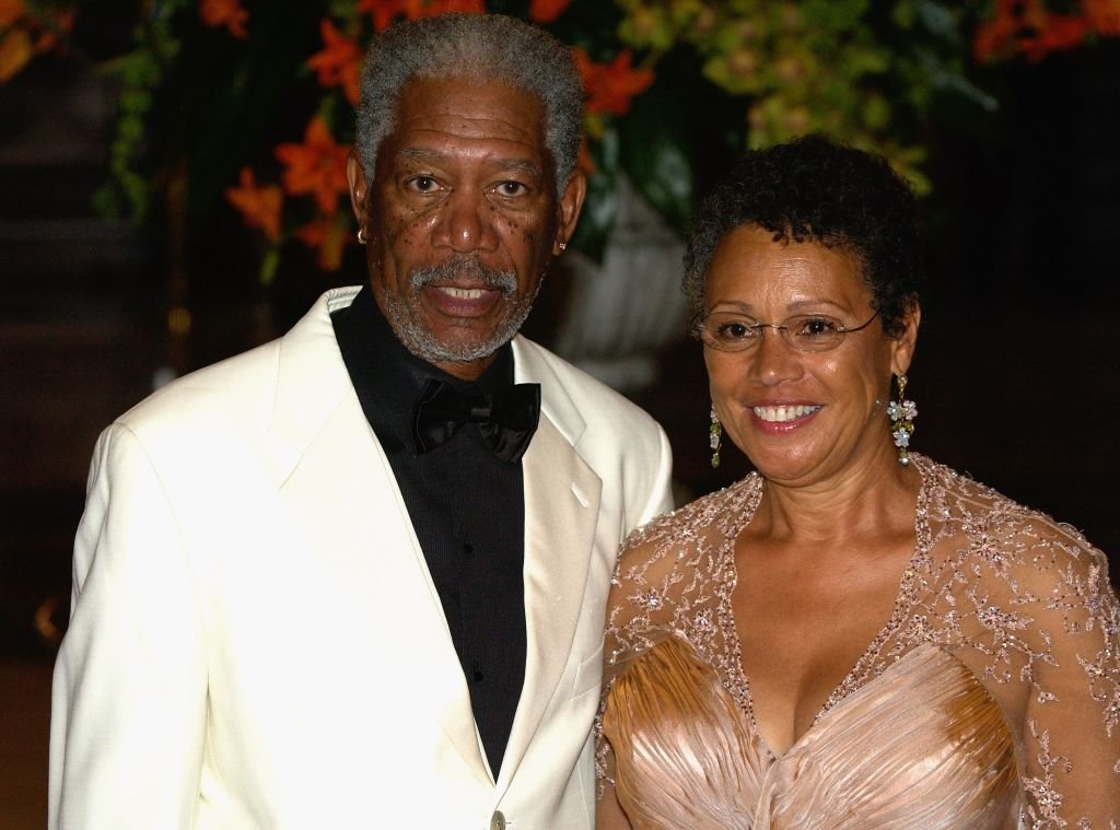 Morgan Freeman and his wife, Myrna Colley-Lee arrive at the 'Unite For A Better World Gala Dinner' on September 2, 2007. | Photo: Getty Images