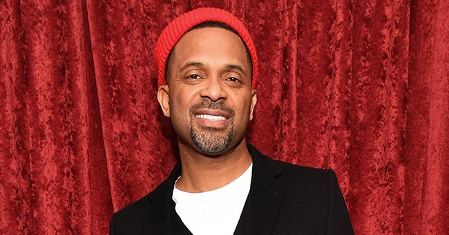 See Mike Epps' Baby Indiana's Adorable Frown Holding a Pumpkin in Striped Outfit & Orange Bows