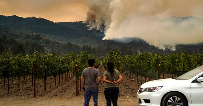 Thousands of People Evacuate after Two More Wildfires Broke Out in Northern California