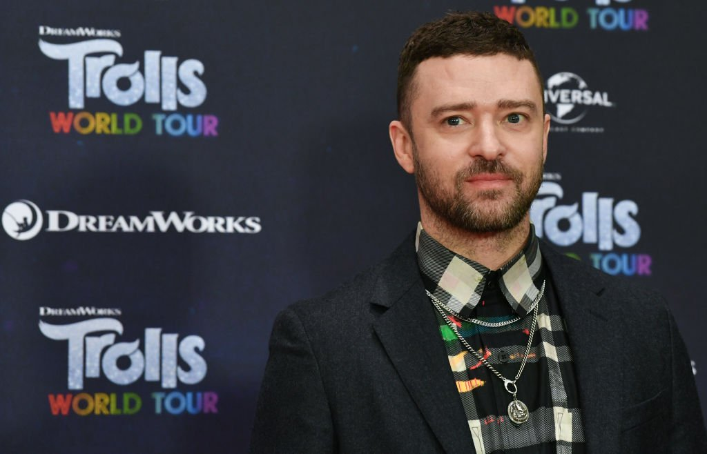 """Justin Timberlake attending the """"Trolls Worlds Tour"""" Premier. Source 