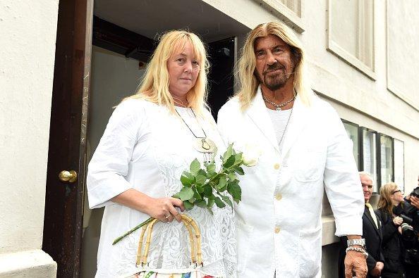 Abi Ofarim und Kirsten Schmidt, München, 2015 | Quelle: Getty Images