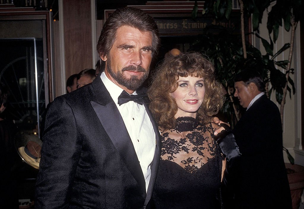 "James Brolin and girlfriend Jan Smithers attend the ABC Party to Kick-Off the Second Season of ""Hotel"" on September 26, 1984 