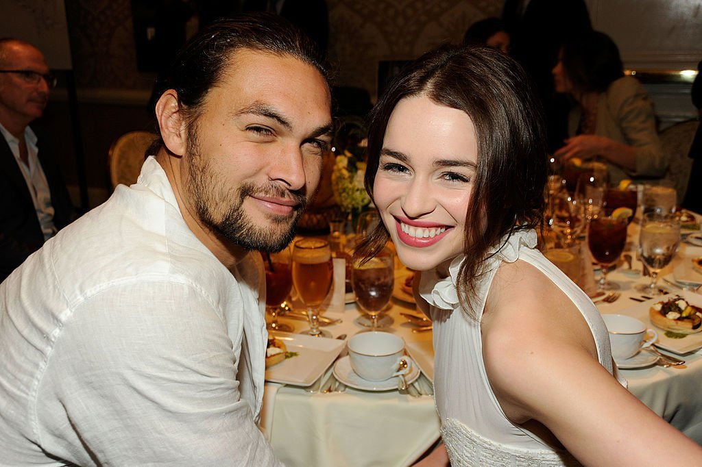 Jason Momoa and Emilia Clarke attend the 12th Annual AFI Awards held at the Four Seasons Hotel Los Angeles at Beverly Hills in Beverly Hills, California | Photo: Getty Images