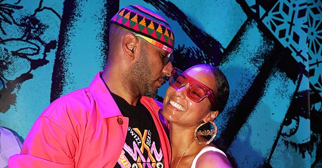 How Alicia Keys' Husband Swizz Beatz Responded as Son Showed Him His Bearded Dragon in the Car