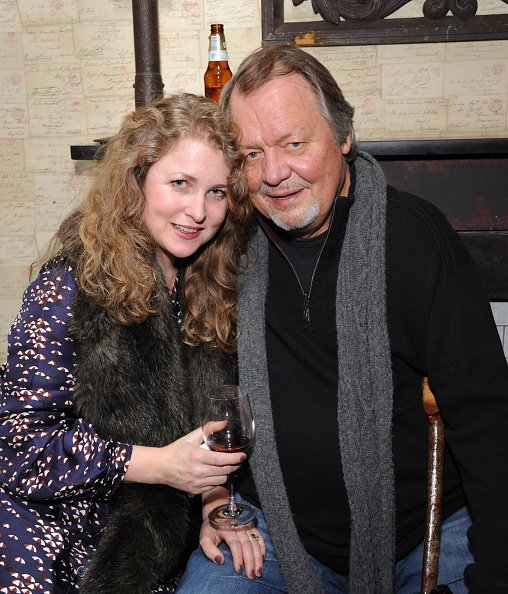 Helen Snell and David Soul at King's Cross Theatre on January 14, 2015 in London, England | Photo: Getty Images