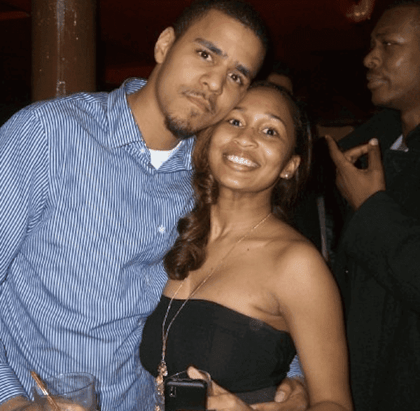 J. Cole and his wife Melissa Heholt | Photo: Wikimedia Commons