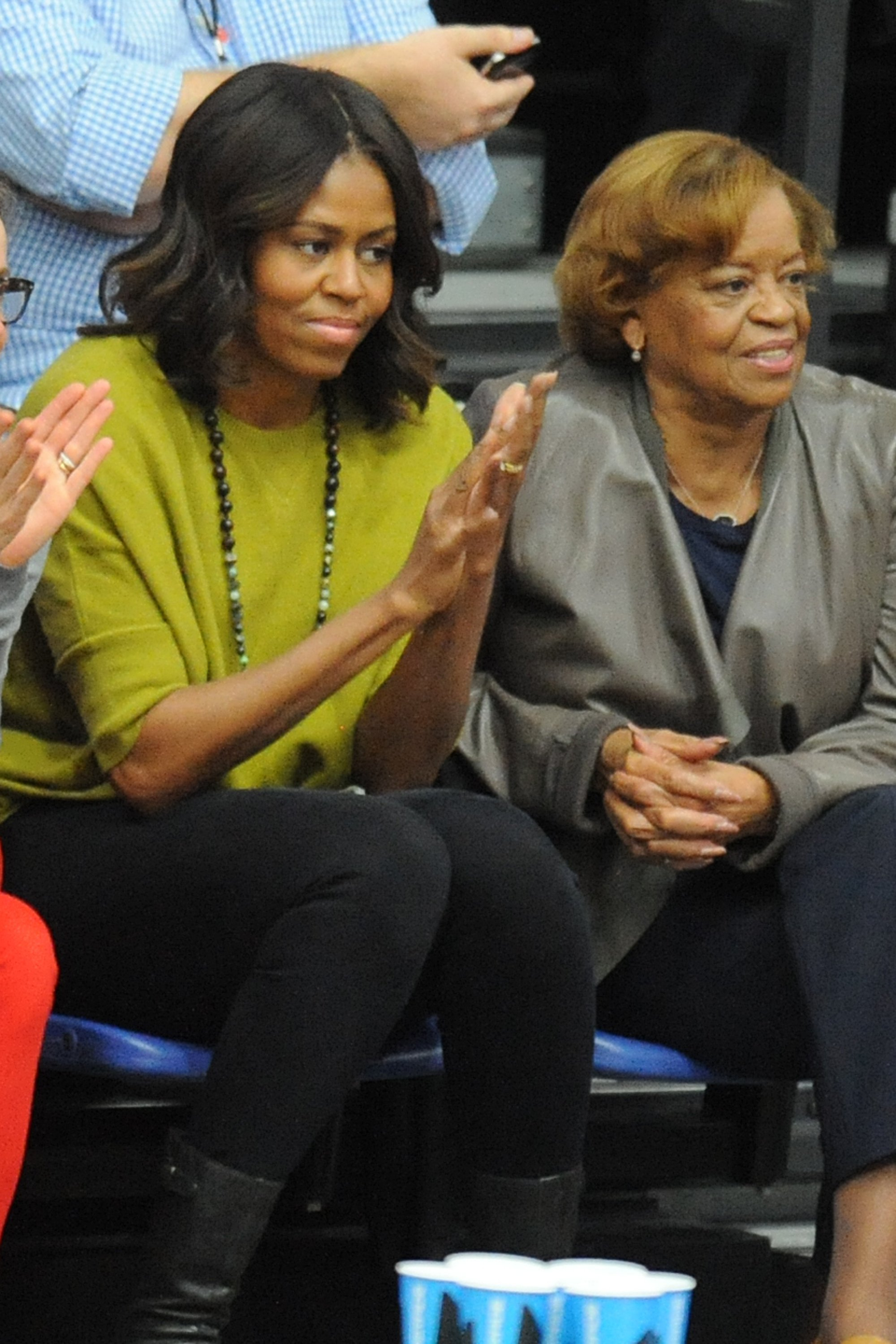 Michelle Obama and Marian Shields Robinson   Photo: Getty Images