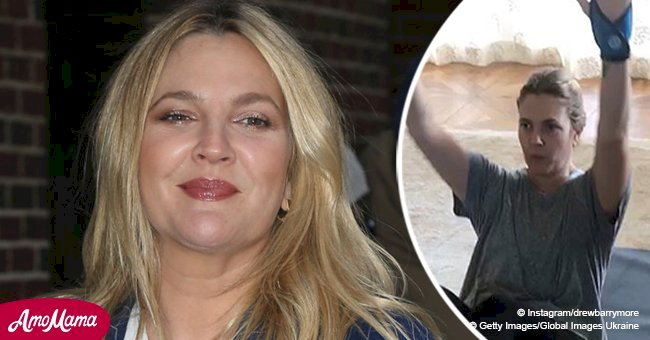 Drew Barrymore shares inspiring photos showing a stunning 25-pound weight loss