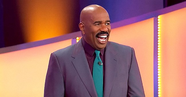 'Family Feud' Host Steve Harvey Trolled by the Game Board in Funny Moment on a Recent Episode