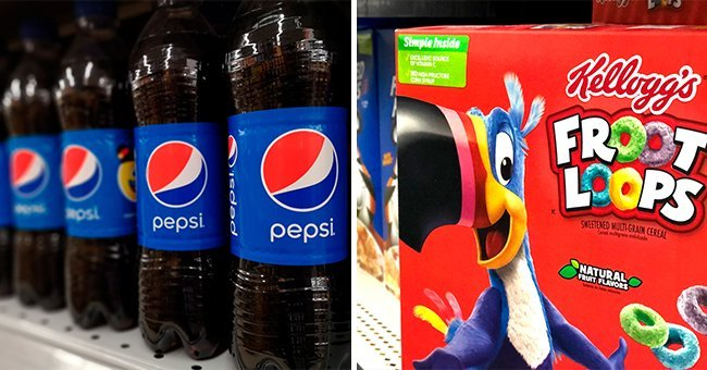 Pepsi bottles and a box of Fruity Loops   Photo: Shutterstock