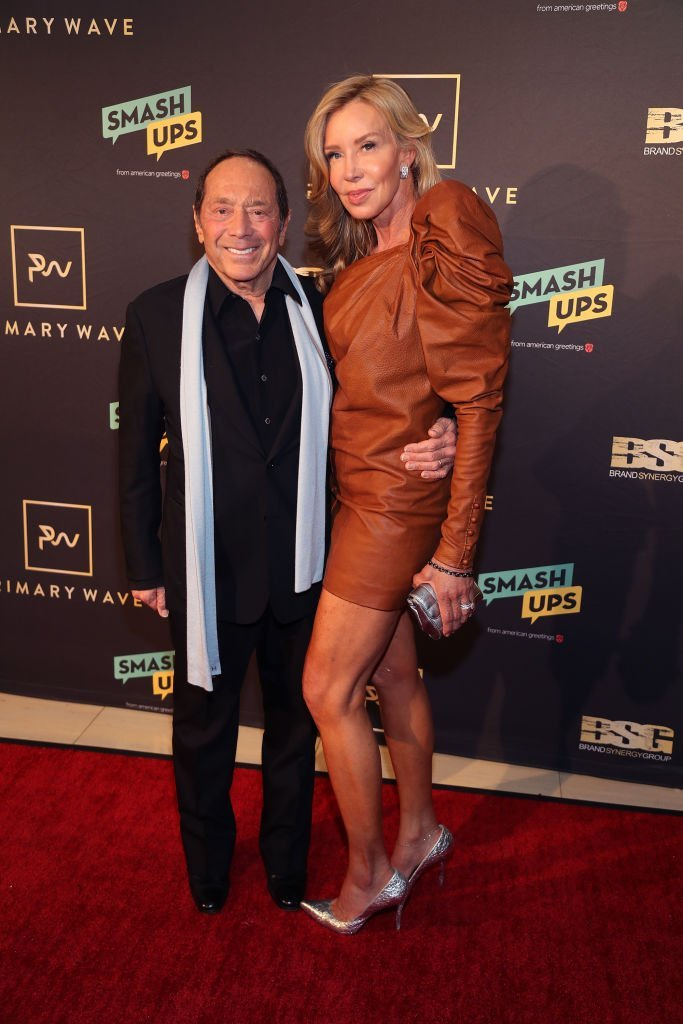 Paul Anka and Lisa Pemberton attend Primary Wave 13th Annual Pre-GRAMMY Bash at The London West Hollywood | Photo: Getty Images