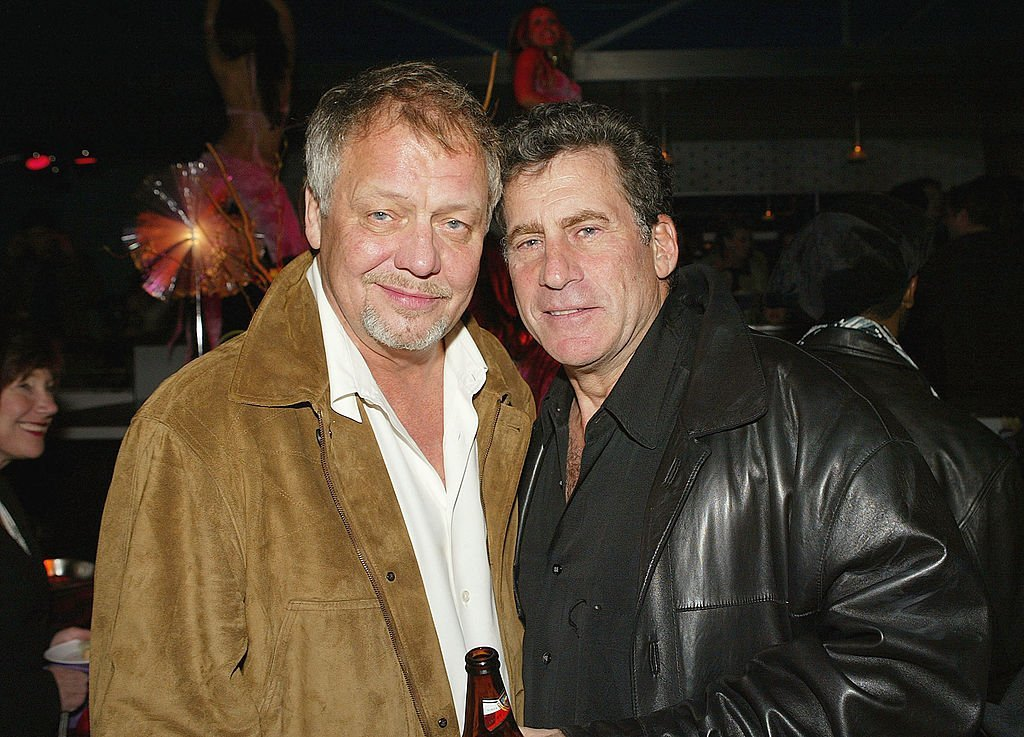 "David Soul and Paul Michael Glaser at the premiere after-party of ""Starsky and Hutch"" on February 26, 2004 