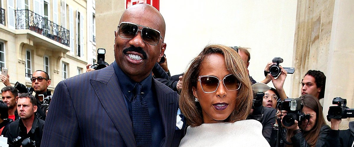 Steve Harvey Once Said He Quit Breathing When He First Saw His Wife Marjorie 33 Years Ago
