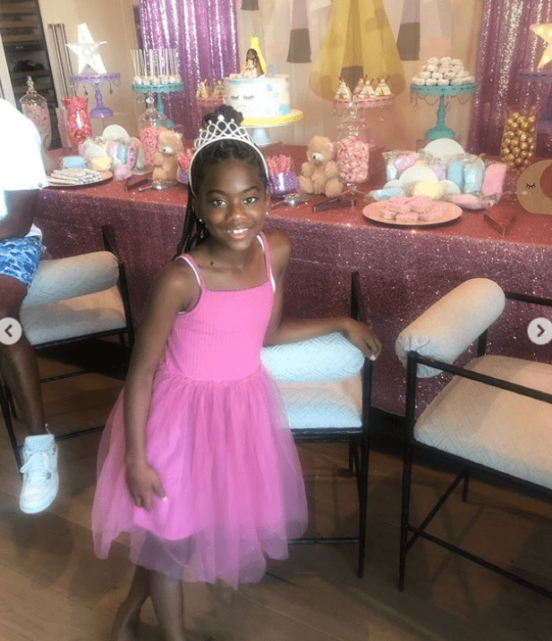 Chris Paul's daughter Camryn celebrates her birthday  Photo: Getty Images