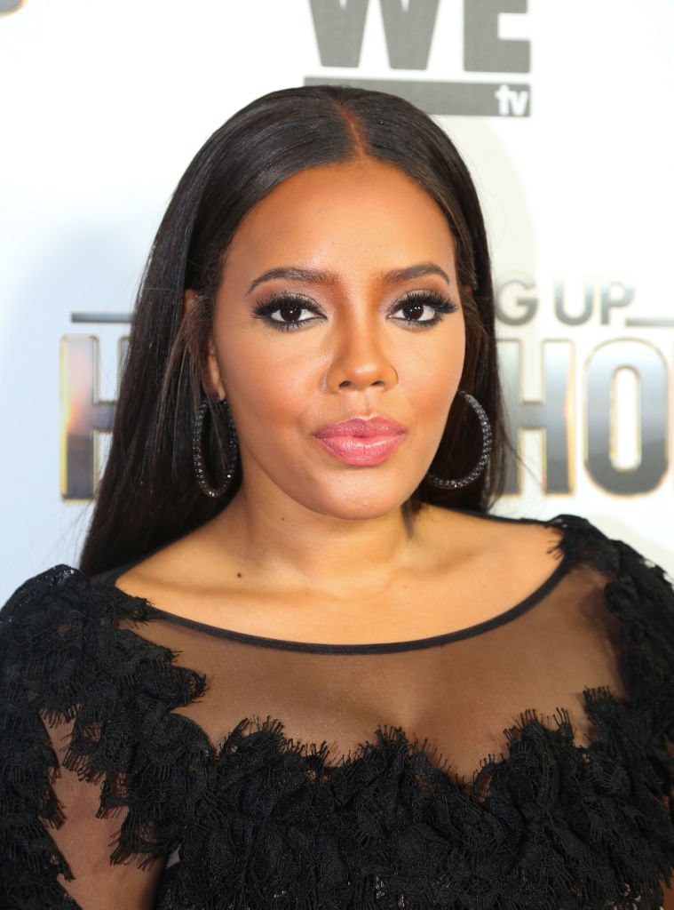"""Angela Simmons at WE tv's screening event of """"Growing Up Hip Hop"""" at The London West Hollywood on May 22, 2018 in West Hollywood, California.