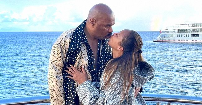 A Look into Steve & Marjorie Harvey's 14-Year Marriage Filled with Lavish Vacations & Fun Times as Grandparents