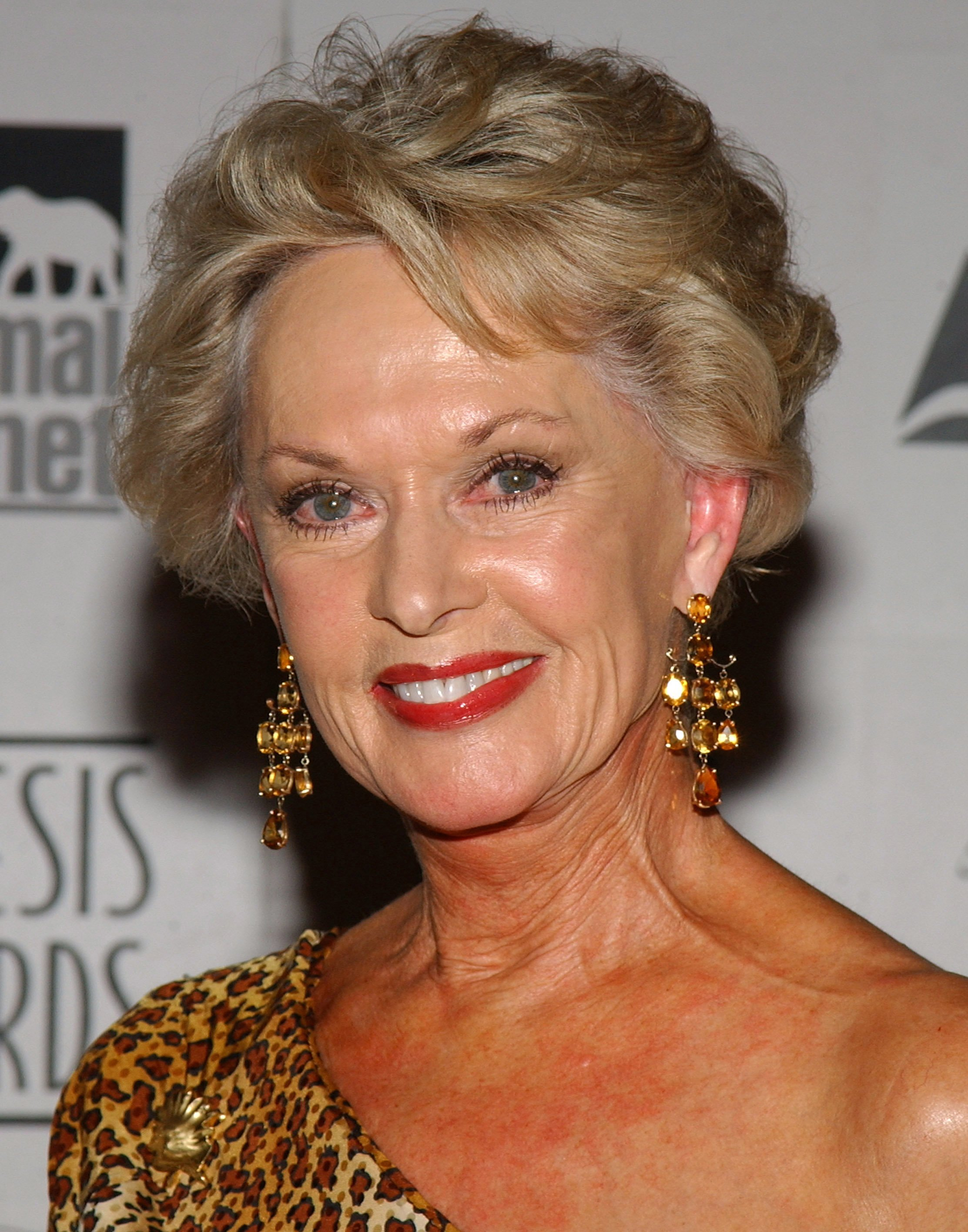Tippi Hedren during The 18th Annual Genesis Awards and 50th Anniversary of the Humane Society of the United States - Pressroom at Beverly Hilton in Beverly Hills, California, United States. | Source: Getty Images