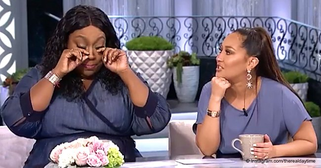 Loni Love dissolved into tears while describing how she and boyfriend James Welsh became exclusive